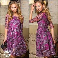 Нарядное платье с вышивкой 220 (1303)