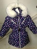 Зимняя куртка девочка Сова, 92, 104 рост
