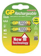 Аккумулятор GP AAA HR03 1000 mAh NiMH, фото 1