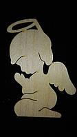 """Подвеска рождественская """"Ангел в молитве"""", 10х8 см, 15\10"""