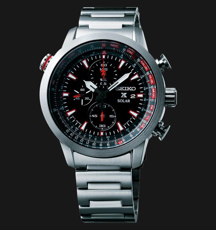 Часы Seiko Prospex SSC349P1 хронограф SOLAR