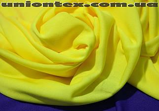 Подкладка трикотажная желтая