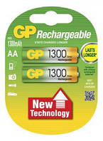 Аккумуляторы GP AA 1300 mAh 1,2 В