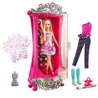 Набор Волшебный шкаф Барби с наборм одежды 45 см + кукла Барби / Barbie A Fashion Fairytale Glitterizer