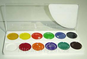 Краски акварельные 12 цветов Луч  Аквариум, фото 2