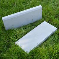 Бордюр (поребрик) бетонный 500*200*40 мм, серый