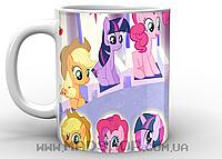 Кружка My little pony персонажи
