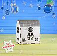 Деревянная шкатулка, подарочная упаковка, упаковка для новогодних подарков, фото 2
