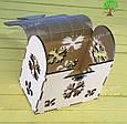 Деревянная шкатулка, подарочная упаковка, упаковка для новогодних подарков, фото 4