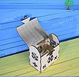 Деревянная шкатулка, подарочная упаковка, упаковка для новогодних подарков, фото 6