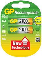 Аккумуляторы GP AA 2100 mAh 1,2 В, фото 1