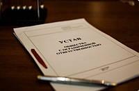 Составим устав организации