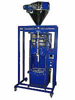 Фасовочно упаковочный автомат на сжатом воздухе со шнековым дозатором