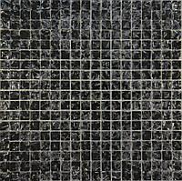 Мозайка Моно черный колотый