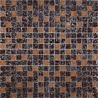 Мозайка Микс коричневый колотый-бежевый колотый