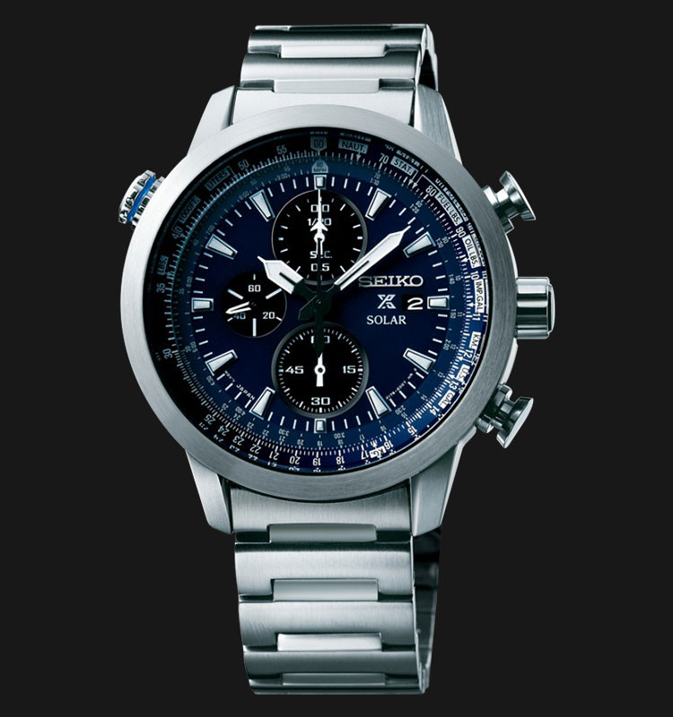 Часы Seiko Prospex SSC347P1 хронограф SOLAR