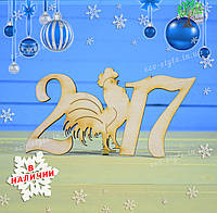 Новогодний декор, 2017 год Петуха