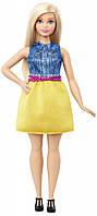Новинка!!! Кукла Barbie Fashionistas Curvy Барби Модницы Блондинка Полная
