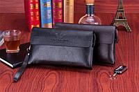 Клатч портмоне мужской Giorgio Armani | Коричневый | Купить кошелек