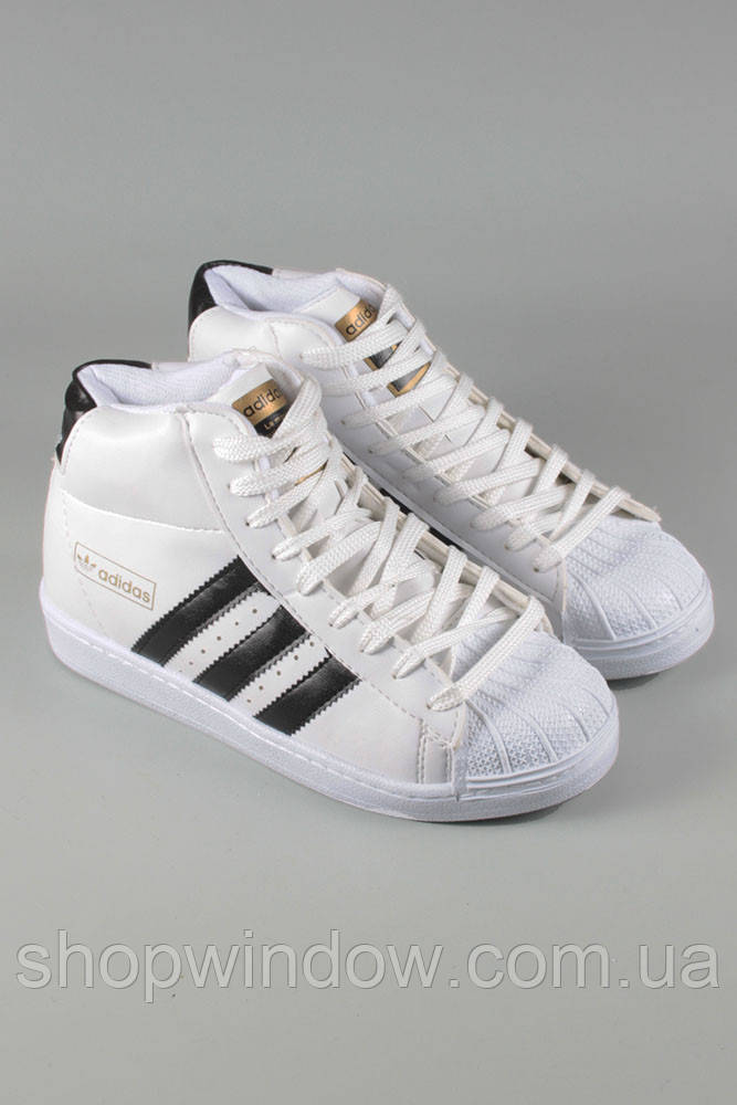 e02d33fe723 Кроссовки Adidas Superstar белые высокие. Спортивная обувь. Кроссовки Adidas.  Обувь для спорта.