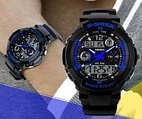 Мужские спортивные водостойкие часы S-SHOCK код 229