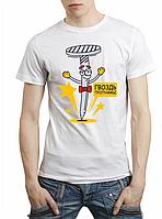 """Мужская футболка """"Гвоздь программы"""""""