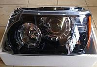 Передние фары тюнинг оптика рестайлинг Range Rover Sport L320