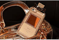 Rhinestone Diamond Perfume Bottle Case Clear для iPhone 5/5s