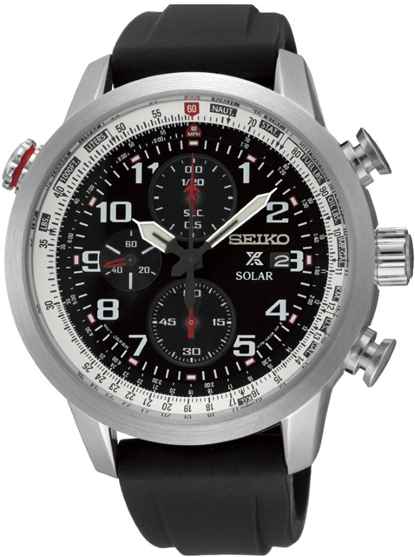 Часы Seiko Prospex SSC351P1 хронограф SOLAR