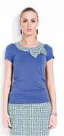 Блузка женская с коротким рукавом Zaps Muriel, кофточка летняя