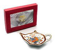 Подставка под чайные пакетики (11,5см.) (TBP1008) Цветы