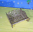 Новогодний декор, подставка для конфет, деревянное лукошко, фото 2