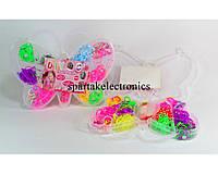 Набор резинок для плетения Loom Band LB013, разноцветные резиночки для плетения браслетов, браслеты из резинок
