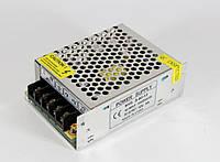 Блок питания 12V 5A METAL, адаптер в металлическом корпусе, блок питания адаптер 12В 5А