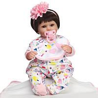 Очаровательная кукла Лола, реборн, 42см, мягконабивная, в подарочной упаковке