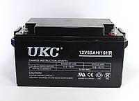 Аккумулятор BATTERY GEL 12V 65A, гелевый аккумулятор, аккумуляторная батарея 12V 65A