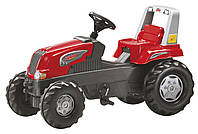 Детский педальный трактор Rolly Toys Junior RT красный
