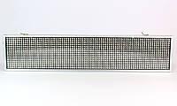 Светодиодная бегущая строка в автомобиль P5 White белая 10*40 (20), реклама бегущая строка в авто
