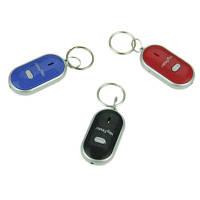 Брелок для ключей с функцией поиска QF 315, свисток для ключей, брелок с фонариком