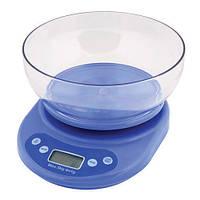 Весы кухонные с чашей ACS KE1 до 5kg, весы кухонные электронные, весы настольные для взвешивания продуктов