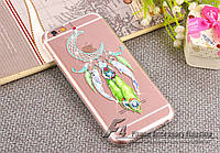 Luxury Diamond Rhinestone Wind Chime Moon Cover Case для iPhone 6/6S