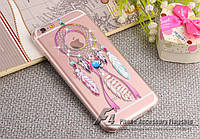 Luxury Diamond Rhinestone Wind Chime Ring Cover Case для iPhone 6/6S