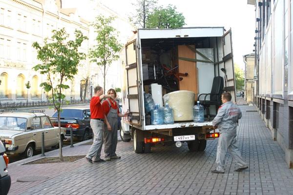 Переезд магазина в Киеве и области