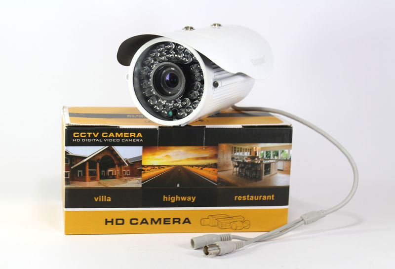 Камера CAMERA 278 4mm (крепление + адаптер), аналоговая камера видеонаблюдения, уличная мини камера - Интернет магазин 24Argo в Днепре