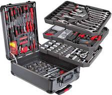 Набор инструментов 187 предметов SWISS and BOCH в чемодане на колесах с ручкой, KomfortMax (Комфортмакс)