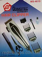 Машинка для стрижки волос в наборе Domotec MS-4610, многофункциональная машинка триммер