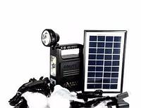 Портативный аккумуляторный фонарь с солнечной батареей TORCH GD LITE GD 8133