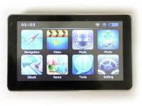 """Автомобильный навигатор GPS 7"""" + 4 GB 710, навигатор для авто 7 дюймов"""