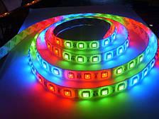 Светодиодная лента разноцветная 5050 RGB 20 метров (силиконовое покрытие)