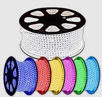 Разноцветная светодиодная лента 5050 RGB 50 метров (силиконовое покрытие)